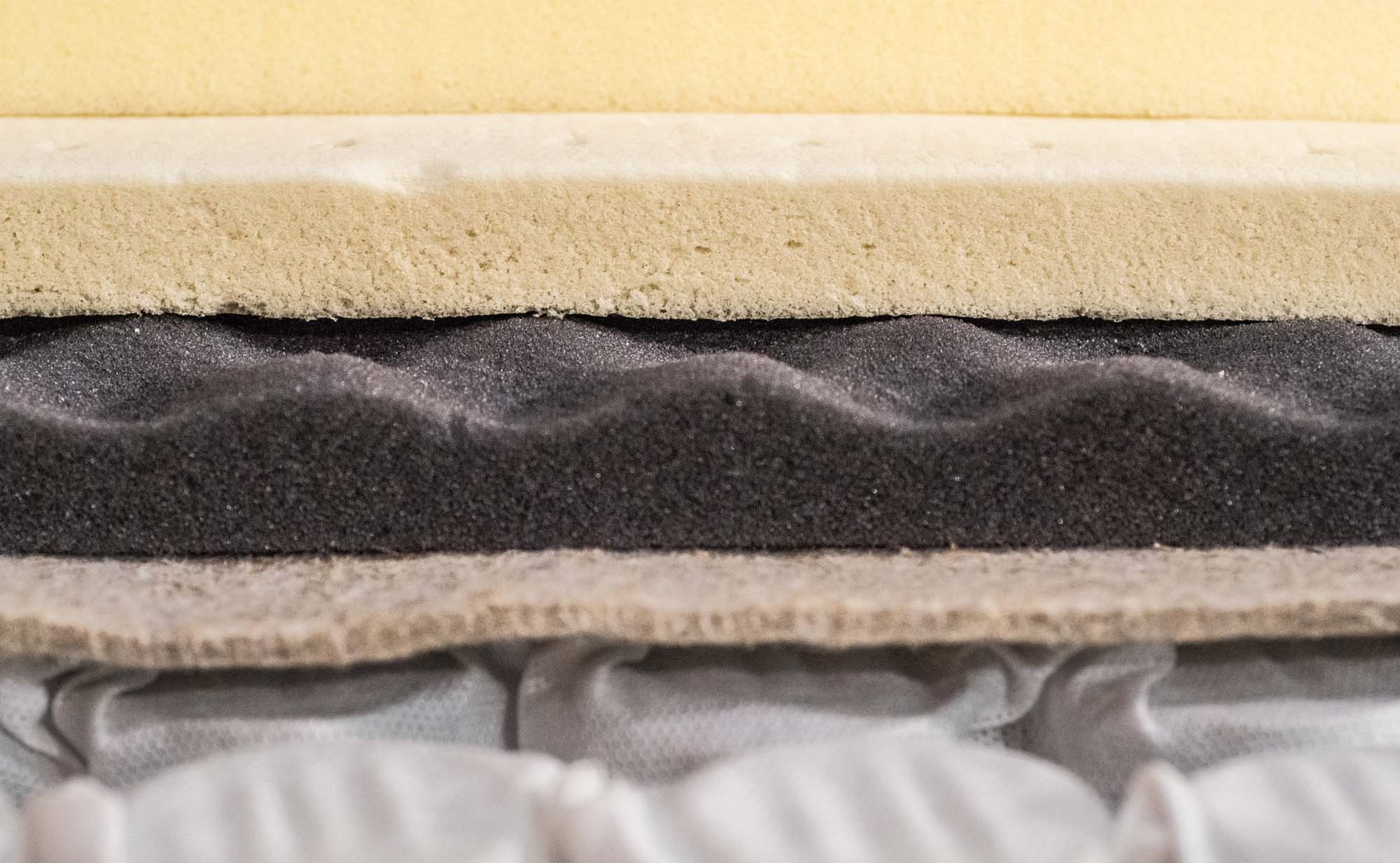 Different types of seating foam